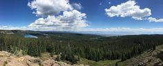 View of the Lakes at Grand Mesa National Forest Colorado [oc][9680 x 3946]