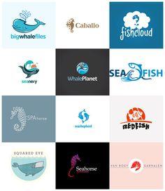 A Showcase of 40 Creative Fish #Logos
