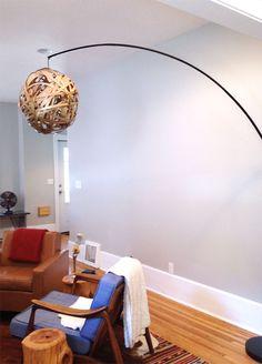DIY lamp. Light up my life.