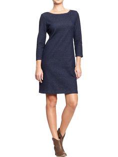 Indigo Knit Dress