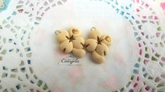 Quadrifoglio ciondolo pendente fimo materiale bigiotteria decoden bomboniere, by Evangela Fairy Jewelry, 1,30 € su misshobby.com