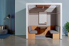 These air-ventilated and soundproof modular meeting rooms are here to replace those laggy Zoom meetings!   Yanko Design Office Pods, Chair Parts, Office Essentials, Workplace Design, Yanko Design, Coworking Space, Sound Proofing, Work Meetings, Design Firms