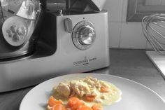 Blanquette de dinde - Mes Recettes au Cooking Chef