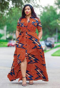 african maxi dresses - - Classical, Creative and Beautiful African Maxi Dresses: Ankara Print Styles - photo Short African Dresses, Latest African Fashion Dresses, African Print Dresses, African Print Fashion, Africa Fashion, Fashion Prints, African Lace, Ankara Stil, Ankara Dress Styles