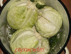 varza in oala Romanian Food, Romanian Recipes, Canning Recipes, Good To Know, Preserves, Pickles, Cabbage, Recipies, Vegetables