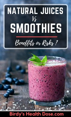 Lately, freshly squeezed fruit juice seems to have more and more competition from the newer and more promising smoothie. The healthiest is to eat the whole fruit, but we can choose between two other ways to consume it: juice freshly squeezed a few minutes before serving or smoothie.