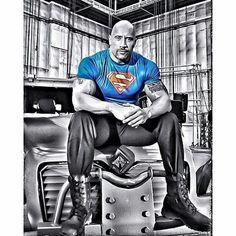 """Dwayne """"The Rock"""" Jo Dwayne """"The Rock"""" Johnson. Rock Johnson, The Rock Dwayne Johnson, Dwayne The Rock, Black Adam, Dwyane Johnson, Superman Shirt, Dc Movies, Blu Ray, Roman Reigns"""