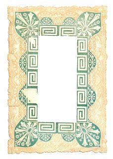 printable antique frame image
