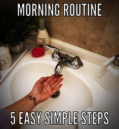 Simple and easy steps for a mitivational morning routine. Simple, Easy, Change Of Life, Routine
