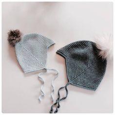 Djævlehue – loops of liberty Knitting For Kids, Baby Knitting Patterns, Crochet For Kids, Baby Patterns, Diy Crochet Clothes, Crochet Baby Toys, Bonnet Crochet, Crochet Pattern, Crochet Hats