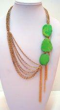 Gold Asymmetrical Necklace