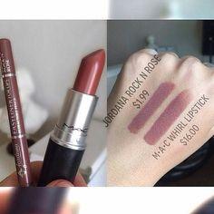 I found this gorgeous dupe!! I love @jordana_cosmetics lipliners! #jordanacosmetics #macdupe #makeupforbeginners by makeupforbeginners_