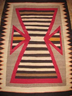 Authentic Navajo Rug By Vivian Kee Ebay Native Americans Pinterest And