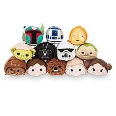Star Wars Mini ''Tsum Tsum'' Plush Collection | Disney Store You'll embark on galactic adventures alongside your favorite <i>Star Wars</i> characters! The Resistance and Empire come together to bring this Mini ''Tsum Tsum'' Collection to your universe.