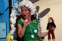 Cultuurmenu Hoogeveen - Wie heeft Monkie gezien? Een theatervoorstelling van Berg Producties voor groep 1 en 2.