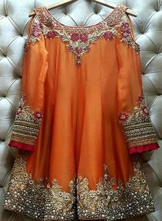 We are taking orders for stunning outfit ♥️ ✅ For price and queries please DM us or you can Call/Message/WhatsApp us on… Pakistani Party Wear Dresses, Shadi Dresses, Pakistani Wedding Outfits, Pakistani Dress Design, Indian Dresses, Indian Outfits, Wedding Dresses, Stylish Dress Designs, Stylish Dresses