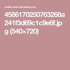4586170250763268a241f3d69c1c9e6f.jpg (540×720)