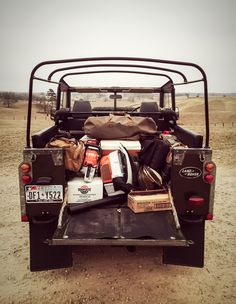 Land Rover Series III - Ranch Arrival