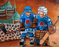 hockey Montreal Canadiens, Hockey Drawing, Hockey Posters, Quebec Nordiques, Pop Art, Disney Characters, Fictional Characters, Flag, Baseball Cards