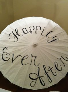 I made parasols to use for our wedding pictures. See my favorite here.