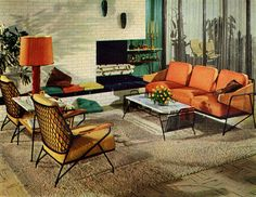 Modern Interior - 1950 or 1960 or ?