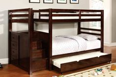 Queen Bunk Bed with Trundle - Interior Paint Color Schemes Check more at http://billiepiperfan.com/queen-bunk-bed-with-trundle/