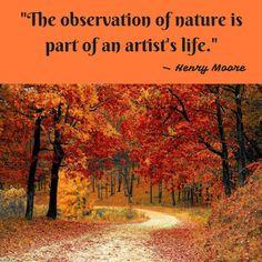 Monday Morning Motivation: Henry Moore — Observation