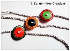 Paper Quilling: Quilled Rakhis | Kalanirmitee Creations