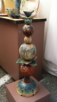 orb stacks for the garden or home