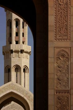 Grand Mosque, Muscat.  photo credit: Stephane Le Gal