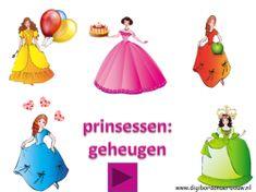 Prinsessen digibordlessen - Digibord Onderbouw