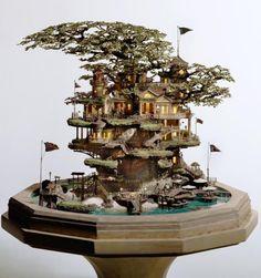 わあ、まるでおとぎ話の世界!世界中で話題の「盆栽アート」はどのように生まれたのか. Bonsai Art