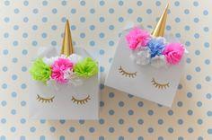 DIY Unicorn Party Boxes Party Favors - Party Alphabet
