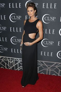 Stacy Keibler: Pregnancy isn't 'an excuse to eat donuts'