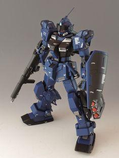 GUNDAM GUY: HG 1/144 RX-80PR Pale Rider - Customized Build