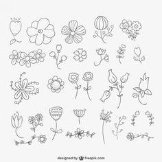 Téléchargez des milliers de vecteurs GRATUITES, photos HD et PSD #fleurs