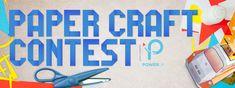 Papercraft Contest 2015 Crafts, Manualidades, Handmade Crafts, Craft, Arts And Crafts, Artesanato, Handicraft