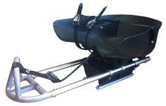 Unique Inventions Goalie (ijshockeyslee voor het spelen van ijshockey/sledgehockey Sledge for #Sledgehockey)