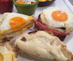 Croque Monsieur Wrap Sandwiches, Main Dishes, Brunch, Eggs, Snacks, Greek, Cooking, Breakfast, Recipes
