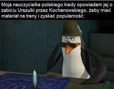 Very Funny Memes, Wtf Funny, Nerd Memes, Polish Memes, Dark Sense Of Humor, History Memes, School Memes, Haikyuu, Haha
