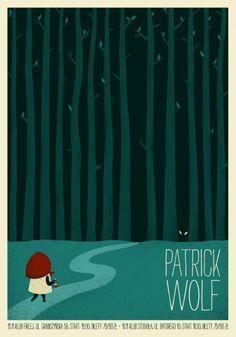 Patrick Wolf poster by Dawid Riski www.talkseek.com/