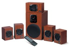 Zvučnici 5.1 Genius SW-HF5.1 4800, (45W+5*16W), Wood- - Surround sistemi - Video - TV, Audio, Video - WinWin