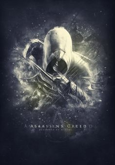 Assassin's Creed poster, by =NINJAIWORKS -Awesome Photoshop editing! I have been playing this game and it is so cool!