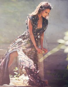 The Lady of the Lake #DracoChronicles Alicia Vikander by David Bellemere for The Edit Magazine July 2015