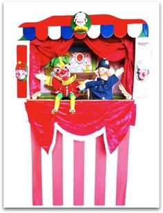 Famous Brighton punch and judy