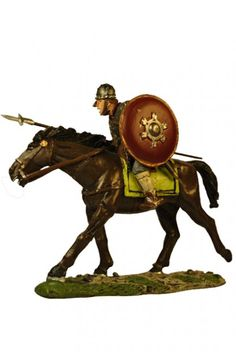 Германский кавалерист династии Оттонов. German Ottonian Cavalryman, Del Prado Средневековье №48