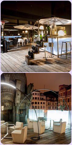 La terraza del Yandiola. Bilbao