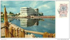 LIBYA  BENGHAZI Palace Hotel nice stamp