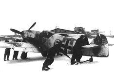 """Messerschmitt Bf 109G-2 I./JG54 """"White 6 """" Russia Winter 1942-1943"""