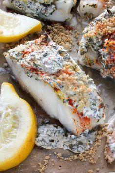 20 Minute Lemon, Garlic, and Herb Baked Cod